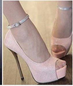 shoes pink faforit