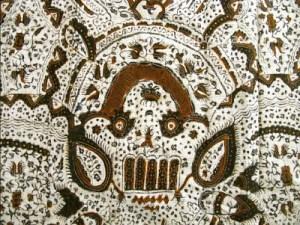 batik motif kapal terdampar