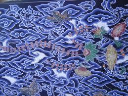 batik cirebon motif mega mendung