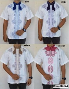 Koko Batik Bordir KK-164 SOLD OUT!! Price : Rp. 100,000/pcs