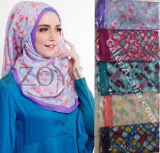Koleksi krudung Zoya new