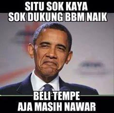 Meme BBM Naik