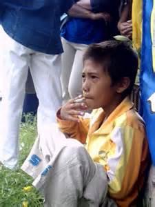 anak-anak merokok