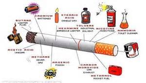 kandungan kimiawi pada rokok