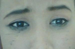 insiden pengguaan eye lener
